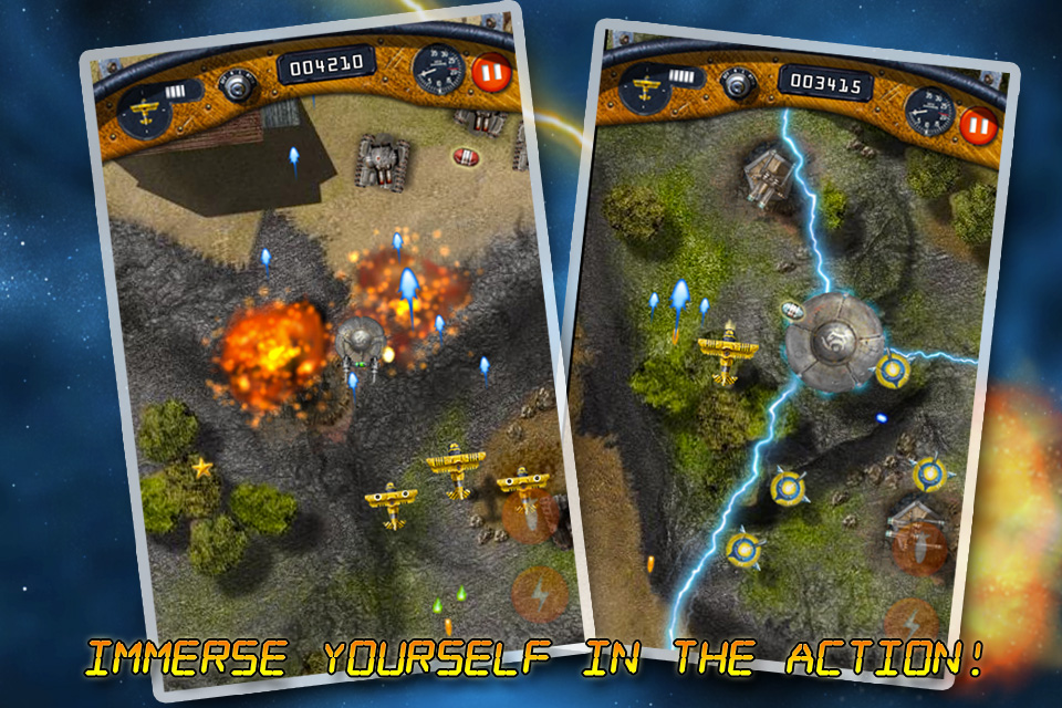 Screenshot B-Squadron Lite : Battle for Earth